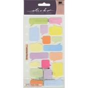 Pattern Captions - Sticko Stickers