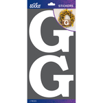G - Sticko Basic White Monogram Stickers