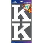 K - Sticko Basic White Monogram Stickers