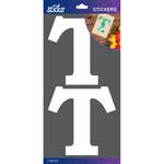 T - Sticko Basic White Monogram Stickers