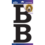 B - Sticko Basic Black Monogram Stickers