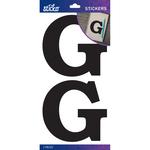 G - Sticko Basic Black Monogram Stickers