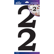 2 - Sticko Basic Black Number Stickers