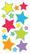 Primary Stars - Sticko Stickers