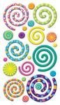 Swirly Gigs - Sticko Stickers