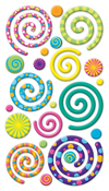 Swirly Gigs - Sticko Stickers