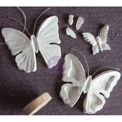 Butterflies, 7 Shapes & A Base - Prima Marketing Relics & Artifacts Archival Cast