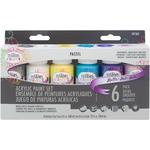 Pastel Matte - Testors Craft Acrylic Paint Set 6/Pkg