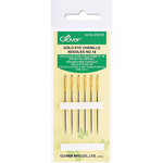 Size 18 6/Pkg - Gold Eye Chenille Needles