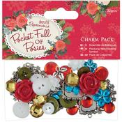 Papermania Pocket Full Of Posies Charm Pack