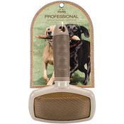 Rectangular Pin Brown - Nandog Pet Brush