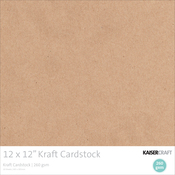 "Kraft - Kaisercraft 260gsm Cardstock 12""X12"" 20/Pkg"