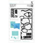 Birthday Card - Xcut A5 Pop-Up Die Set