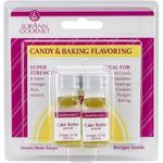 Cake Batter - Candy & Baking Flavoring .125oz Bottle 2/Pkg