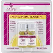 Black Cherry - Candy & Baking Flavoring .125oz Bottle 2/Pkg
