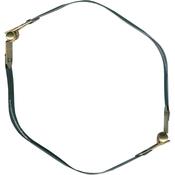 "Gold & Silver - Internal Flex Purse Frame 12"""