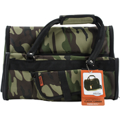 """Camouflage - Prefer Pets Duffle Carrier 15""""X12""""X10"""""""