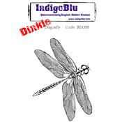Dragonfly - Dinkie - Indigoblu Cling Mounted Stamp