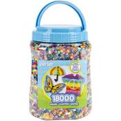 Multicolor - Perler Fun Fusion Bead Jar 18,000/Pkg