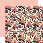 Lily Meadow Corsage Paper - Flora No 1 - Carta Bella