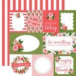 Petunia Patch Journaling Card Paper - Flora No 1 - Carta Bella