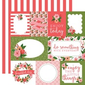 Petunia Patch Journaling Card Paper - Flora No 1 - Carta Bella