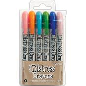 Tim Holtz Distress Crayon Set #6