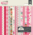 Beloved 12 x 12 Paper Pad - Authentique