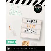 Mini Blank - Heidi Swapp Lightbox Inserts