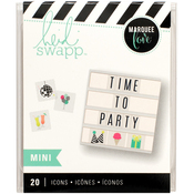 Mini Party Icons - Heidi Swapp Lightbox Inserts