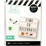 Mini Holiday Icons - Heidi Swapp Lightbox Inserts