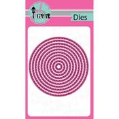 Stitched Circle, 10/Pkg - Pink And Main Dies