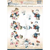 Snowmen - Find It Trading Precious Marieke Winterfun Punchout