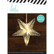 Gold - Heidi Swapp 5-Point Star Paper Lantern