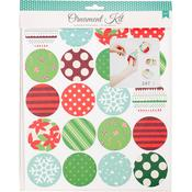 Ornaments - American Crafts Christmas Paper Craft Kit