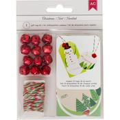 Gift Tags - American Crafts Christmas Paper Craft Kit