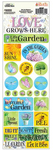 Ella & Viv Love Grows Here Combo Stickers