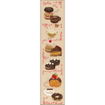 """6""""X23.5"""" 14 Count - Dolce Vita Counted Cross Stitch Kit"""