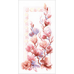 "9.75""X19.75"" 14 Count - Magnolia Counted Cross Stitch"