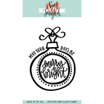 """Merry & Bright Ornaments - Neat & Tangled Clear Stamps 3""""X4"""""""
