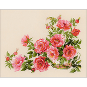 """19.75""""X15.75"""" 14 Count - Sweet Flavor Counted Cross Stitch Kit"""