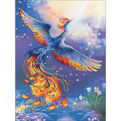 """11.75""""X15.75"""" 14 Count - Bird Of Happiness Counted Cross Stitch Kit"""