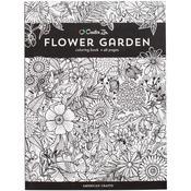 Flower Garden - Creative Zen Coloring Book