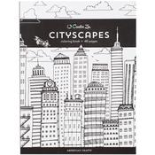 Cityscapes - Creative Zen Coloring Book