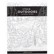 Outdoors - Creative Zen Coloring Book