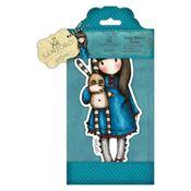 Hush Little Bunny - Santoro Large Rubber Stamps