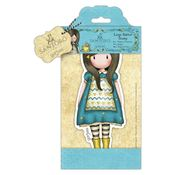 The Little Friend - Santoro Large Rubber Stamps