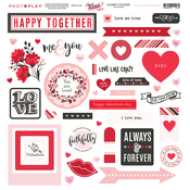 So Loved Element Stickers - Photoplay