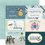 4x6 Journaling Cards - Rock-A-Bye Baby Boy - Carta Bella