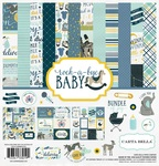 Rock-A-Bye Baby Boy Collection Pack - Carta Bella